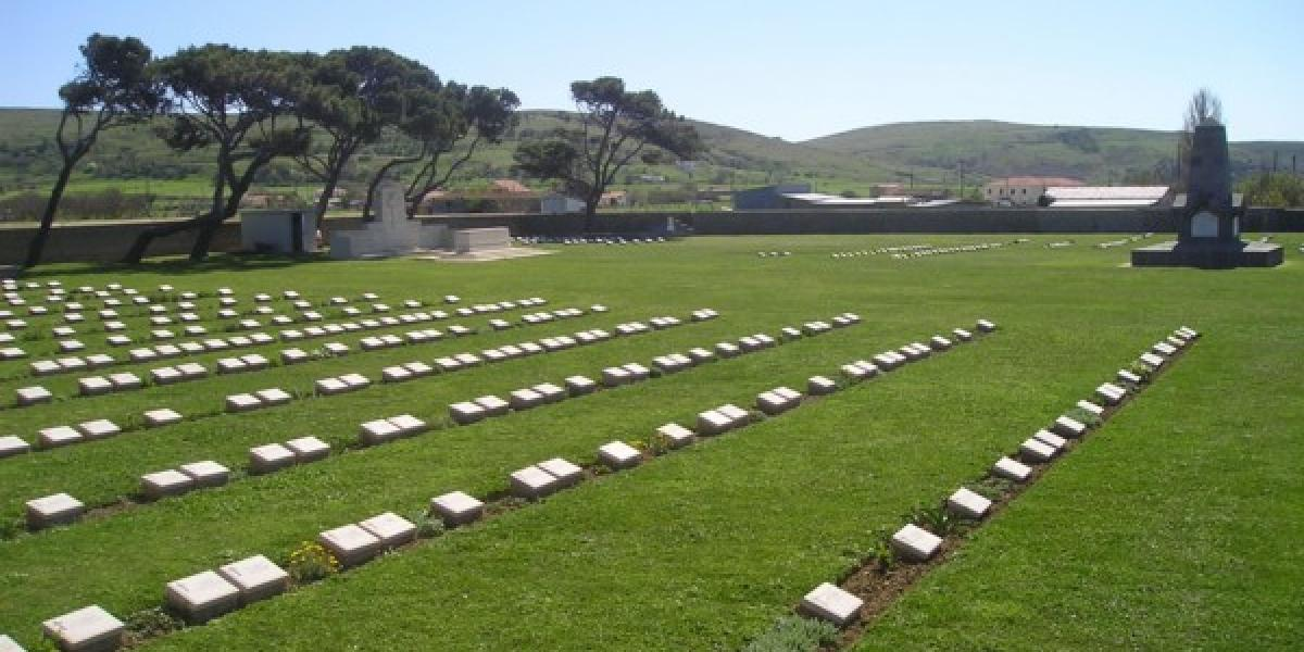 Anzac Cemetery in Moudros